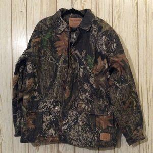 Levi's Men's Large Camo Jean Jacket Coat